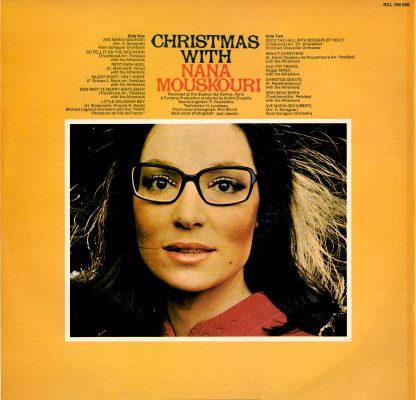 Christmas With Nana Mouskouri Back Cover Image