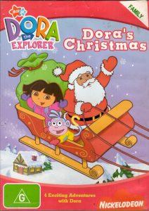Dora's Christmas DVD image